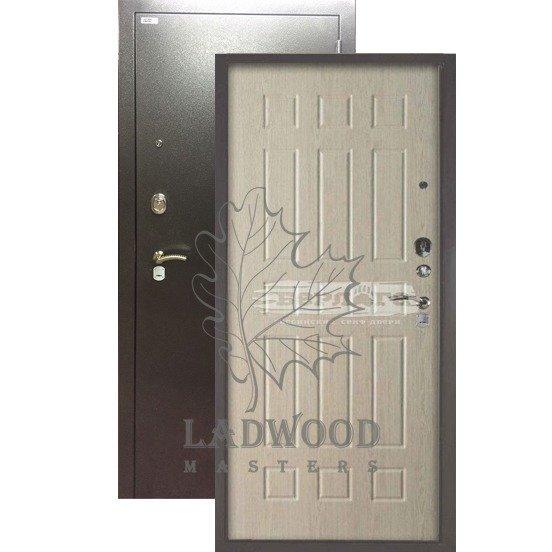 Стальная дверь БЕРЛОГА 3К Брасс Ларче