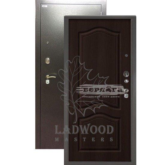 Стальная дверь БЕРЛОГА 3К Этюд Венге