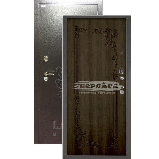 Стальная дверь БЕРЛОГА 3К Левзея Венге