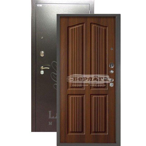 Стальная дверь БЕРЛОГА 3К Лондон Дуб рустикальный
