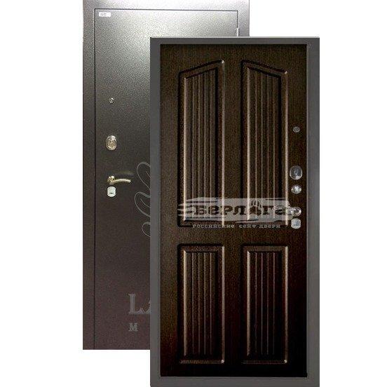Стальная дверь БЕРЛОГА 3К Лондон Венге