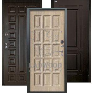 Стальная дверь Аргус Люкс АС 2П Шоколад