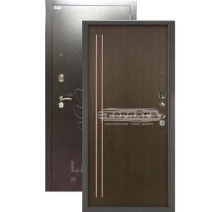 Стальная дверь Берлога 3К Мирта Венге