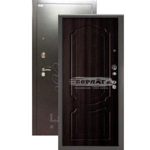 Стальная дверь БЕРЛОГА 3К Мишель Венге