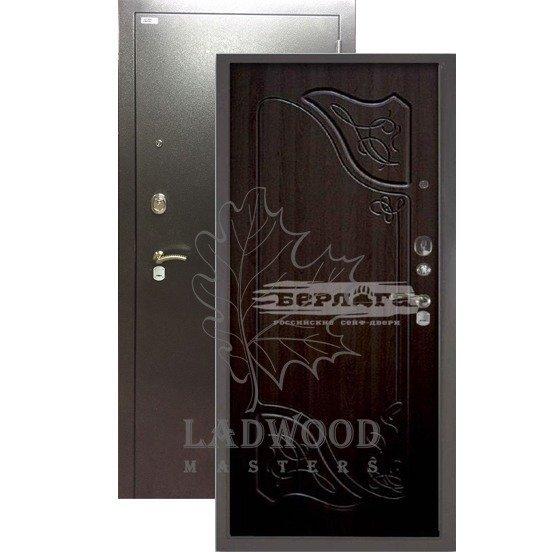 Стальная дверь БЕРЛОГА 3К Веста Венге