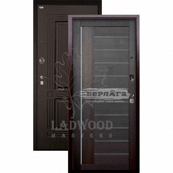 Стальная дверь Берлога Оптима+ Триумф Диана вельвет