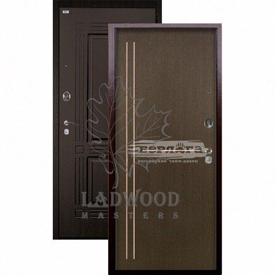Стальная дверь Берлога Оптима+ Триумф Мирта венге