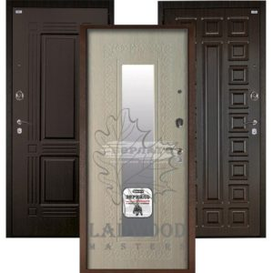 Стальная дверь Берлога Оптима+ ВИКИНГ