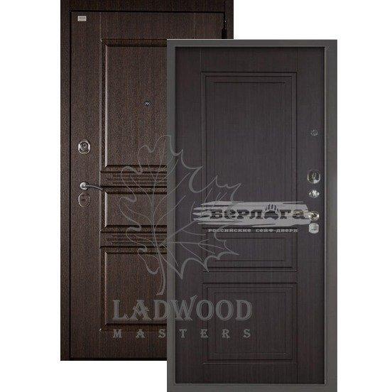 Входная Дверь Берлога 3К 2П Сабина Гаральд Венге