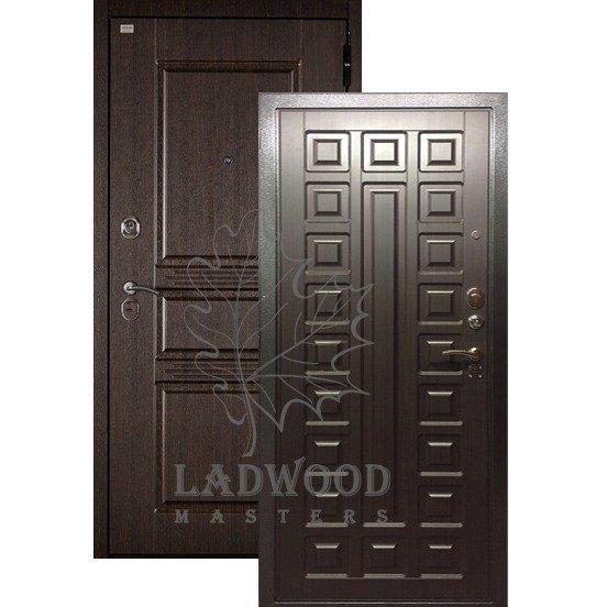 Входная Дверь Берлога 3К 2П Сабина Сенатор Венге