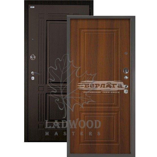 Входная Дверь Берлога 3К 2П Триумф Гаральд Дуб рустикальный