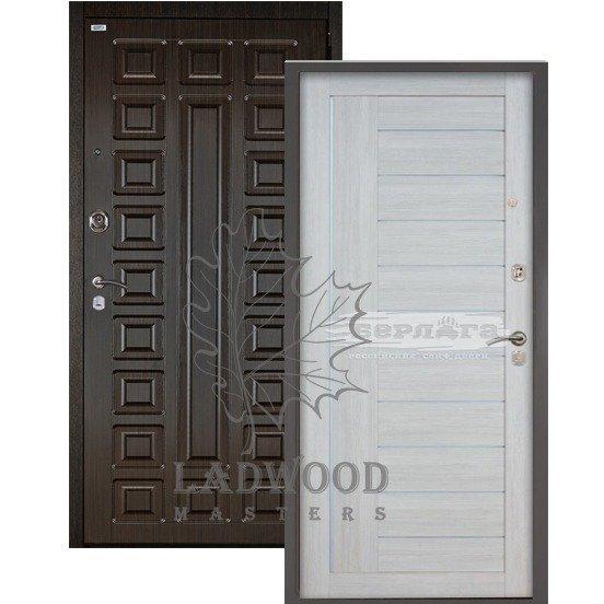 Входная дверь Берлога 3К 2П СЕНАТОР_ДИАНА Буксус