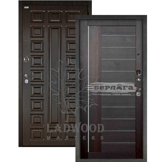Входная дверь Берлога 3К 2П СЕНАТОР_ДИАНА Вельвет