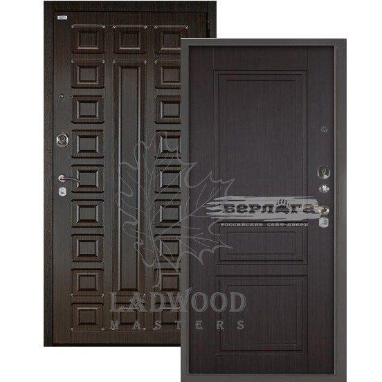 Входная стальная дверь БЕРЛОГА 3К 2П ГАРАЛЬД