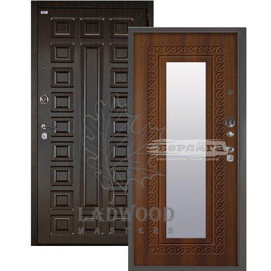Входная дверь Берлога 3К 2П СЕНАТОР_Викинг Дуб рустикальный