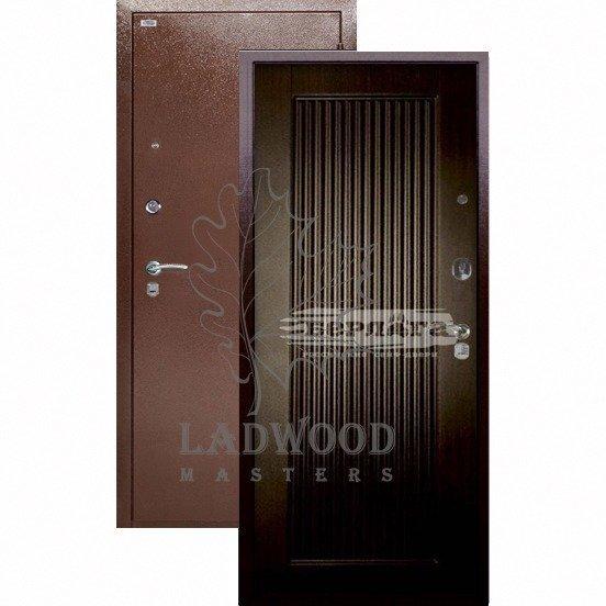 Входная дверь Берлога Оптима Багратион Венге