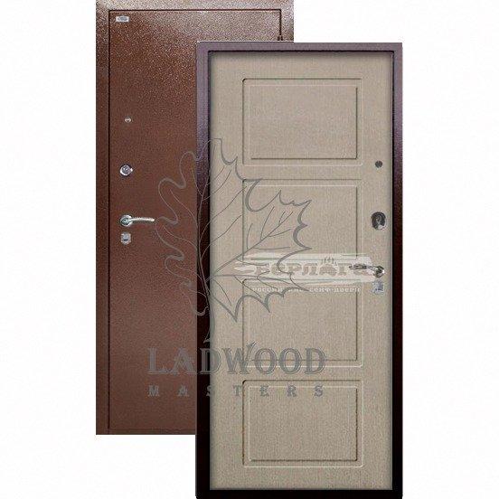 Входная дверь Берлога Оптима Геометрия Ларче