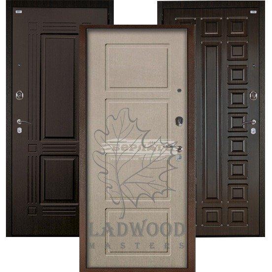Стальная дверь Берлога Оптима+ Геометрия