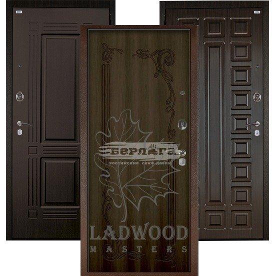 Стальная дверь Берлога Оптима+ Левзея