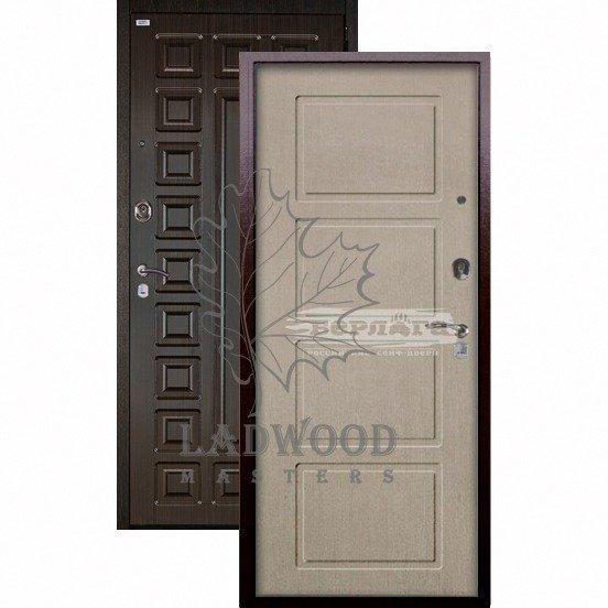 Входная дверь Берлога Оптима+ Сенатор Геометрия ларче