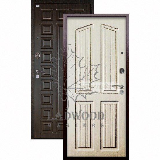 Входная дверь Берлога Оптима+ Сенатор Лондон ларче