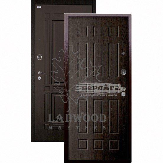 Стальная дверь БЕРЛОГА ОПТИМА+ БРАСС