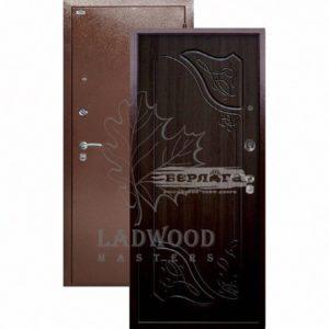 Входная дверь Берлога Оптима Веста Венге