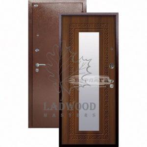 Входная дверь Берлога Оптима Викинг Дуб Рустикальный