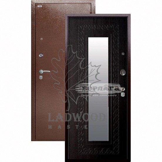 Входная дверь Берлога Оптима Викинг Венге