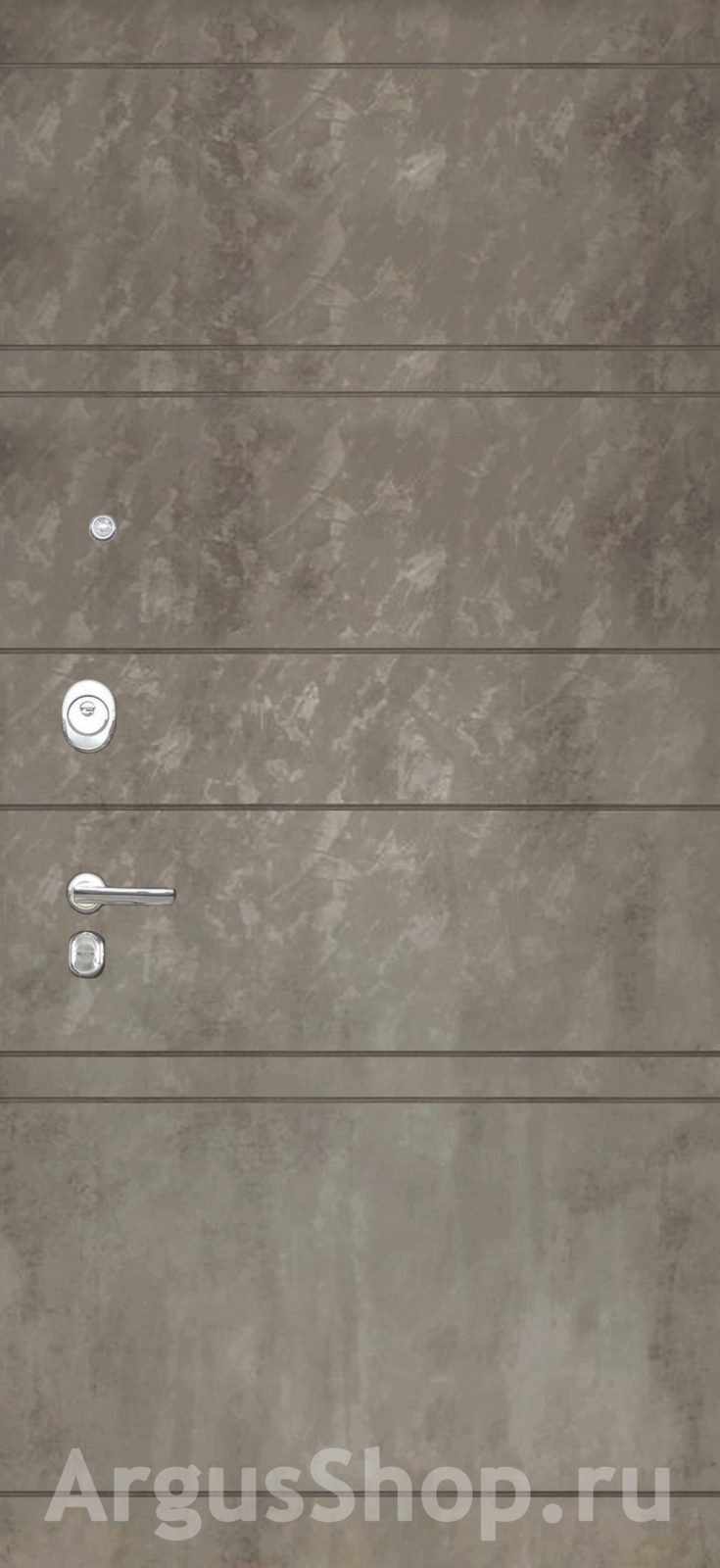 Двери Аргус Агат Дуо Тёмный бетон