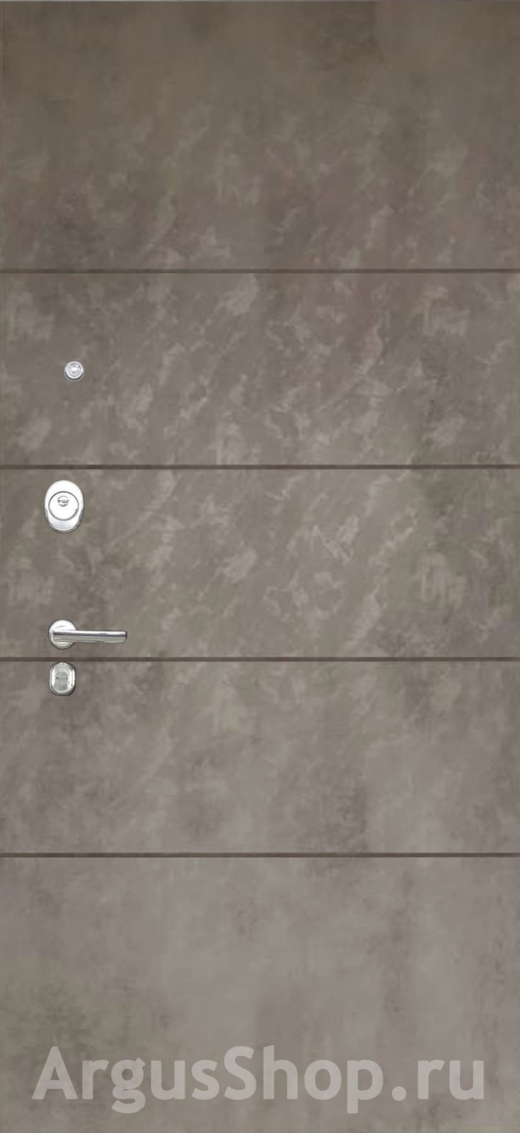 Двери Аргус Агат Тёмный бетон