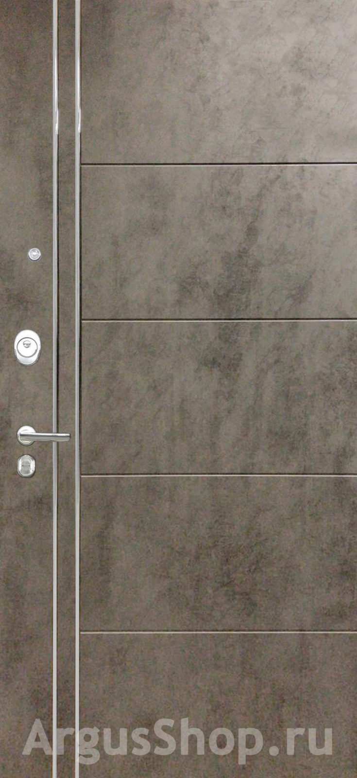 Двери Аргус Лофт Тёмный бетон
