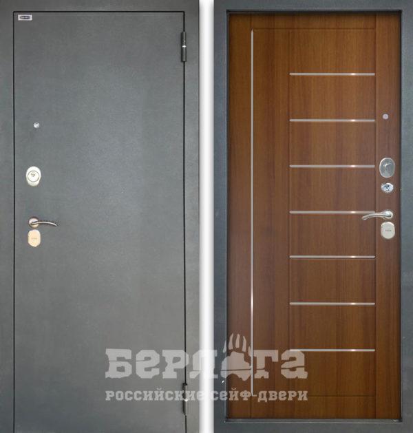 Стальная дверь Берлога Тринити 3К Фриза
